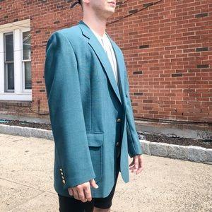 Other - New Vintage Emerald Blazer